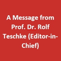 Archives of Gastroenterology Research: A Message from  Prof. Dr. Rolf Teschke (Editor-in-Chief)
